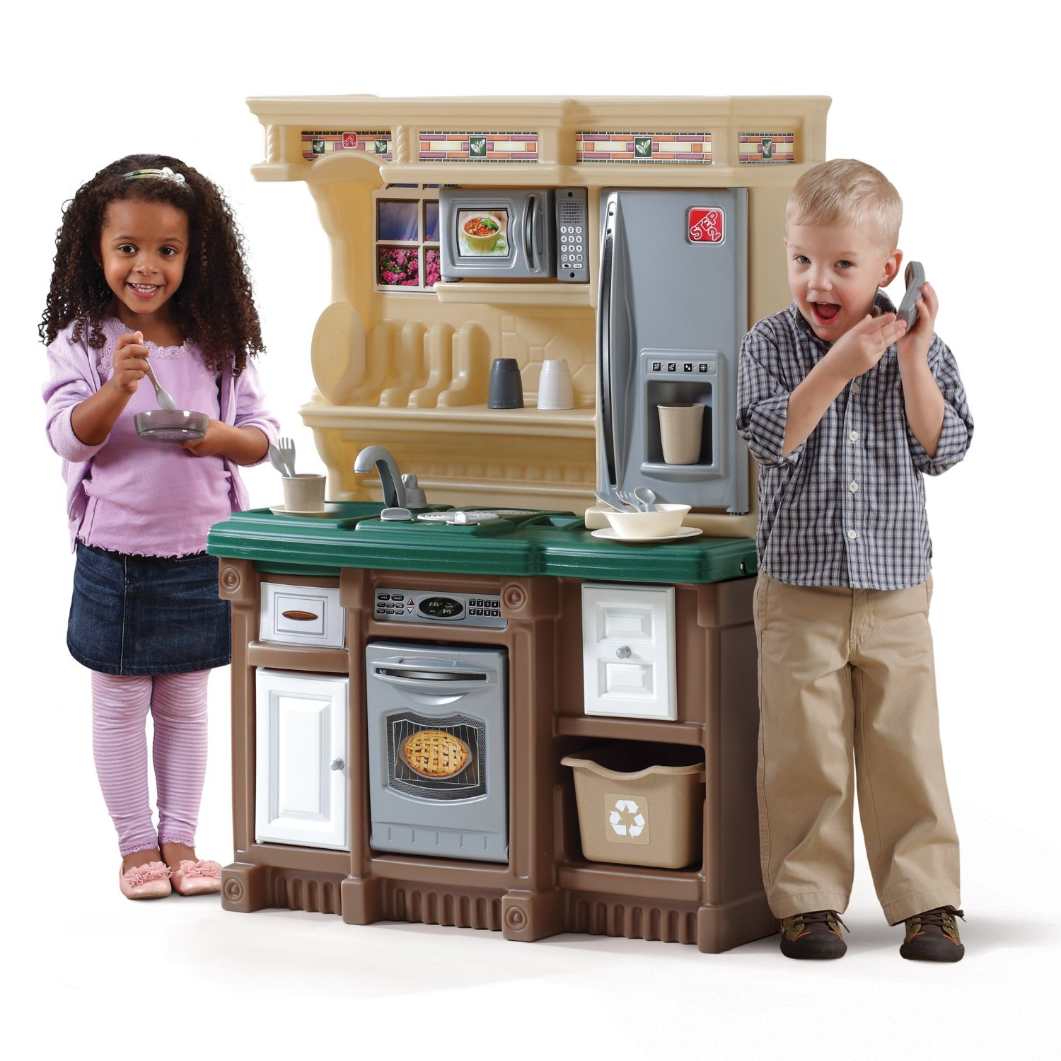 Stainless Steel Kitchen Set Toy