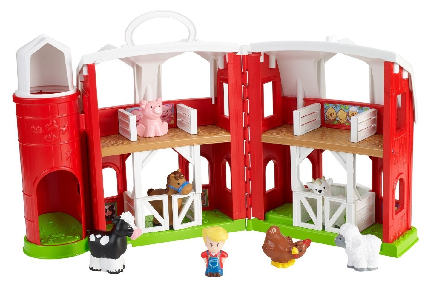 Toy Farm Sets With Animals - 3 Sets To Choose From