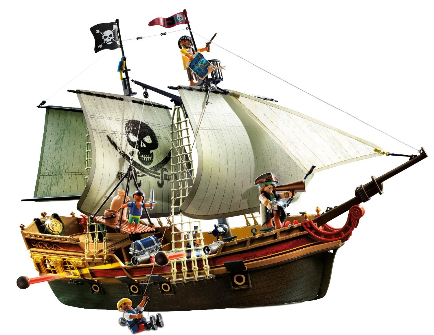 Best pirate ship toy 3 popular models - Bateau pirate peter pan ...